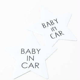 BABY IN CAR マグネット ステッカーシール