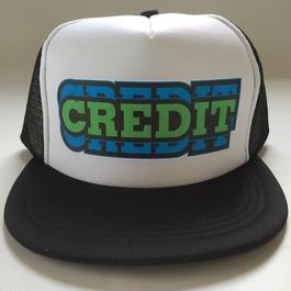 "CREDIT ""PRO REPLICA""  Mesh cap・Flat Visor Black"