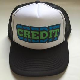 """CREDIT """"PRO REPLICA""""  Mesh cap・Trucker Black"""