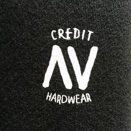 """CREDIT× AA """"CREW NECK"""" SWEAT・Black"""