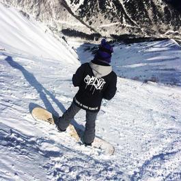 CREDIT × AA HARDWEAR・SNOWBOARD COACH JACKET