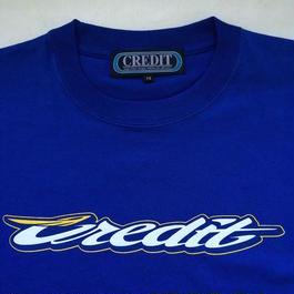 "CREDIT ""GRAND PRIX"" T-SHIRTS・Blue"