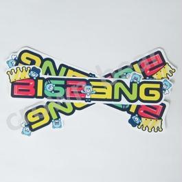 BIGBANG YGベア+BIGABANGロゴ 耐水ステッカー/シール 全員ver