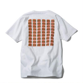 CHEESE BURGERS TEE (WHITE) : GANGSTER DOODLES【CC17AW-002】