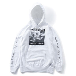 CHECK YOUR HOODIE (WHITE) : YUNG LENOX【CC16AW-SW-003】