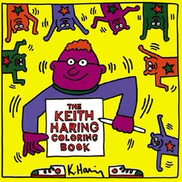 Keith Haring Coloring Book【KH-025】