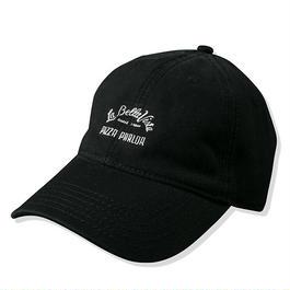 PIZZA BOY CAP BLACK :  STIKSTOK【CC16AW-CP-003】