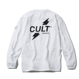 CRUSH LONG SLEEVE TEE (WHITE) 【CC17AW-003】