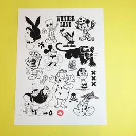 【PRINT】Wonderland by Jeroen Huijbregts