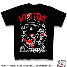 Tシャツ005【LET IT ROCK】B
