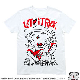 Tシャツ005【LET IT ROCK】W