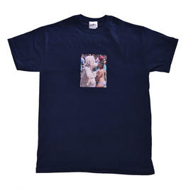 GO NAKED PHOTO Tee | Navy