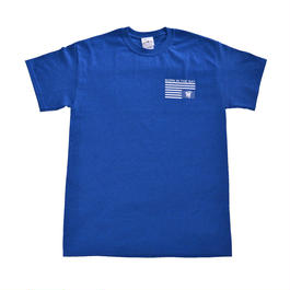 BORN IN THE BAY Tee | Royal Blue