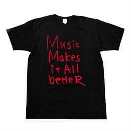 6/4発送予定! MMIB T-shirt / 6.2oz BLK - BLK27018RD