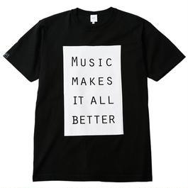 MMIB BOX LOGO T-shirt / 6.2oz BLK - BLK27019WH