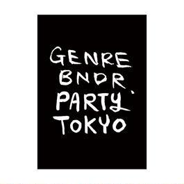 GENRE BNDR PARTY TOKYO ポスター B1 (サイズ : 728×1030mm)