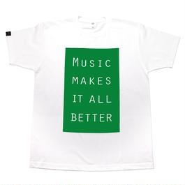 MMIB BOX LOGO T-shirt / 6.2oz WHT - WHT27019GN