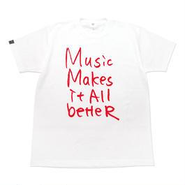 6/4発送予定! MMIB T-shirt / 6.2oz WHT - WHT27018RD