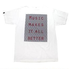 MOSAIC MMIB BOX LOGO T-shirt / 5.6oz BLK - WHT27055RD