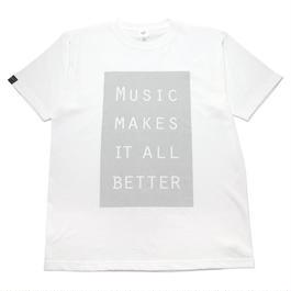 LIMITED MMIB BOX LOGO T-shirt / 6.2oz WHT - WHT27019SLV