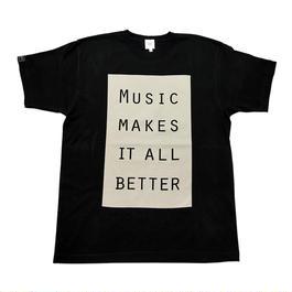 MMIB BOX LOGO T-shirt / 6.2oz BLK - BLK27019SD
