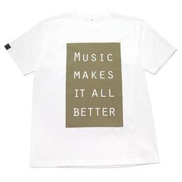 LIMITED MMIB BOX LOGO T-shirt / 6.2oz WHT - WHT27019OLV