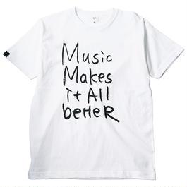 MMIB T-shirt / 6.2oz WHT - WHT27018BK