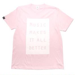 LIMITED MMIB BOX LOGO T-shirt / 6.2oz PNK - PNK27019WH