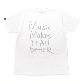 6/4発送予定! MMIB T-shirt / 6.2oz WHT - WHT27018GY