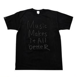 6/4発送予定! MMIB T-shirt / 6.2oz BLK - BLK27018DGY