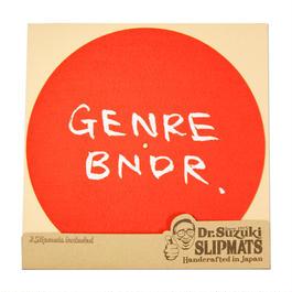 LIMITED HINOMARU GENRE BNDR × Dr. Suzuki Slipmats