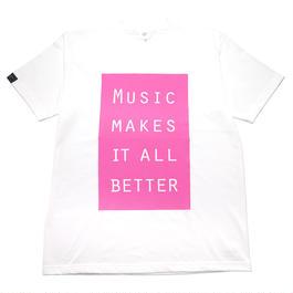 LIMITED MMIB BOX LOGO T-shirt / 6.2oz WHT - WHT27019AP