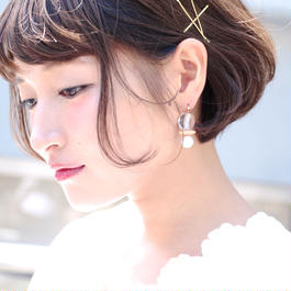 Midy pierce/earring clear