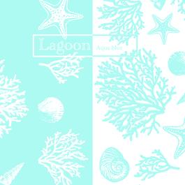『Lagoon』 aqua blue