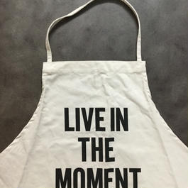 DRESSSEN ADULT APRON  #11   LIVE IN THE MOMENT🔴新発売