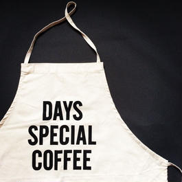 DRESSSEN ADULT APRON #37 DAYS SPECIAL COFFEE