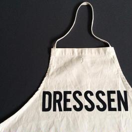 """DRESSSEN ADULT APRON  #6  """"DRESSSEN"""""""