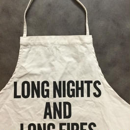 DRESSSEN ADULT APRON #54 LONG NIGHTS AND LONG FIRES🔴新発売