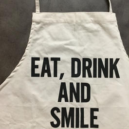 DRESSSEN ADULT APRON #46 EAT,DRINK AND SMILE🔴新発売