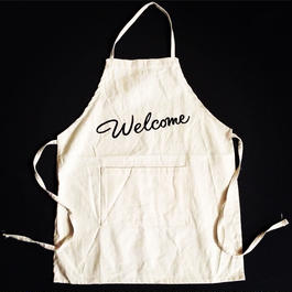 "DRESSSEN KD10 KIDS APRON  ""WELCOME""(※キッズエプロンです)"