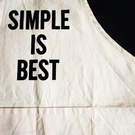 "DRESSSEN ADULT APRON #16 ""SIMPLE IS BEST"""