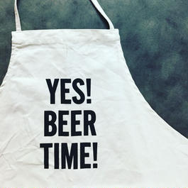 DRESSSEN ADULT APRON #47 YES! BEER TIME!🔴新発売!