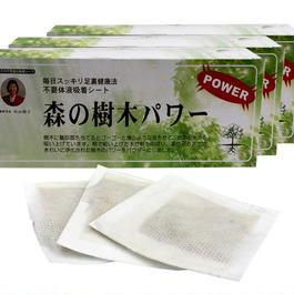 足裏シート 森の樹木パワー40枚入 お買得3箱セット(20%OFF)