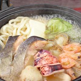 """Hokkaido Local cuisine """"Ishikari nabe"""" (1736)"""