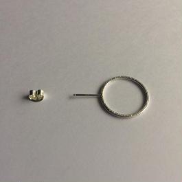 Ring earring , b / SV