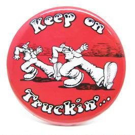 Vintage keep on trukin'...  pinbacks 538
