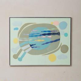 1977. applique wall art 038