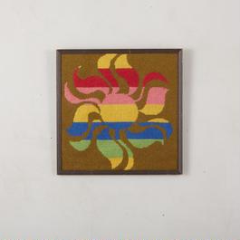 Old needlepoint wall art 143