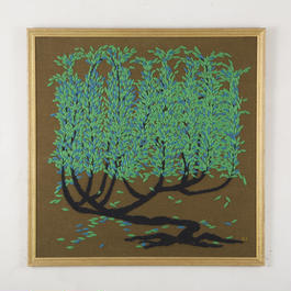 Large embroidery wall Art 172