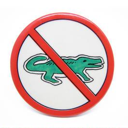 Vintage crocodile pinbacks 539